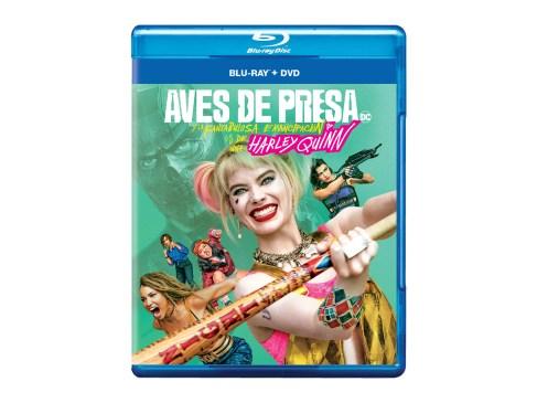 Combo Blu-ray y DVD deAves de presa (y la fantabulosa emancipación de una Harley Quinn)