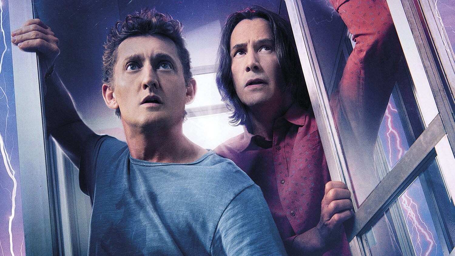Fotografía de Keanu Reeves y Alex Winter en Bill & Ted Face the Music