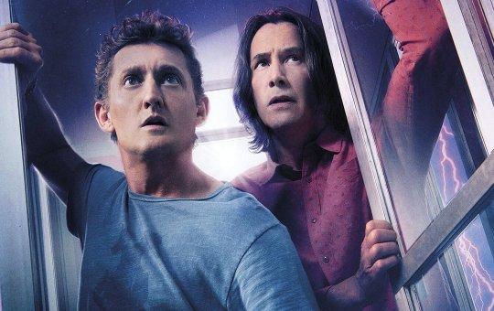Fotografía de Keanu Reeves y Alex Winter en Bill & Ted Face the Music