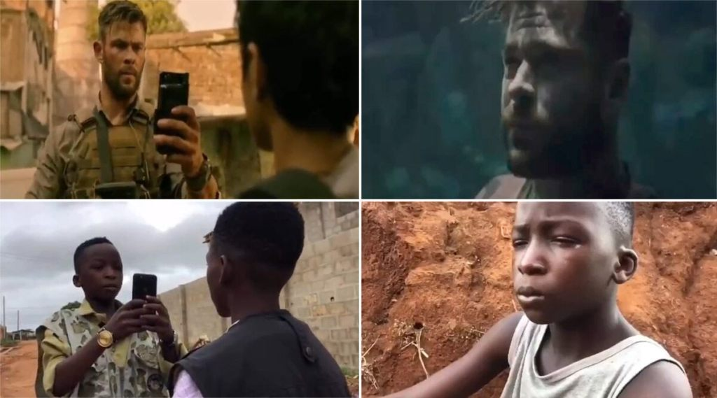 Ikorodu Bois, niños recrean escenas de películas y series como Extraction