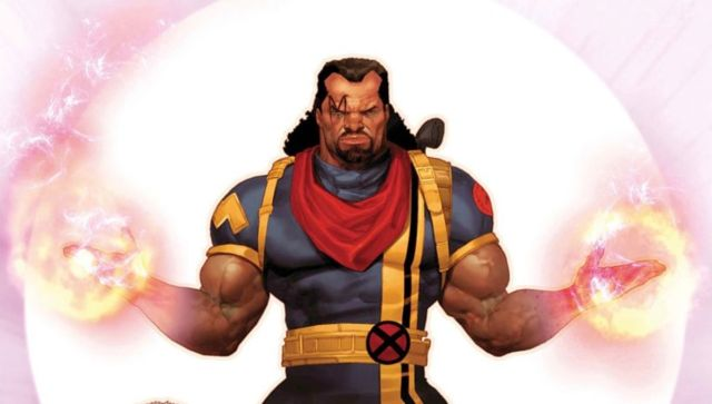 Ilustración de Bishop, de X-Men