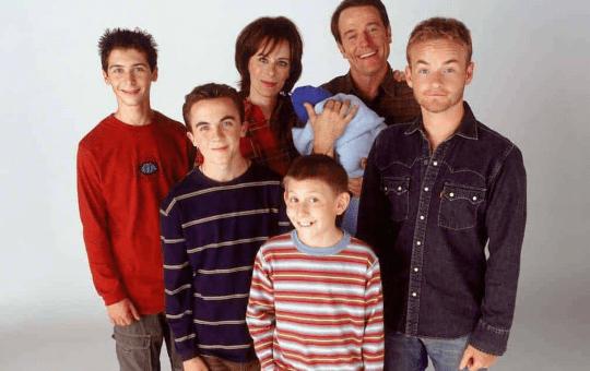 Fotografía del elenco de Malcolm el de en medio