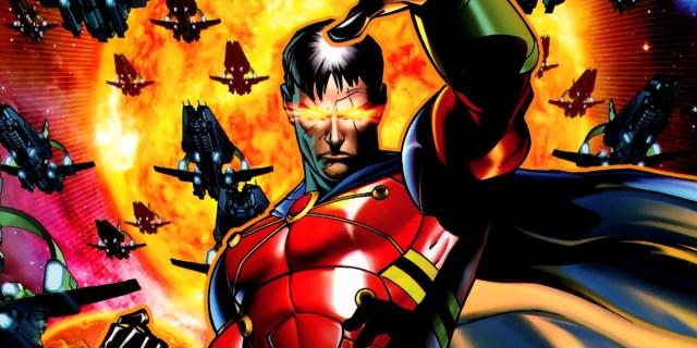 Ilustración de Vulcan, villano de X-Men