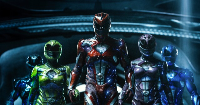 Fotografía de Power Rangers, película de 2017