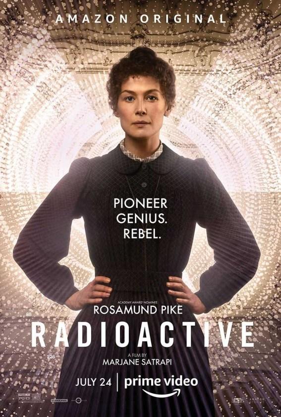 Fotografía de Rosamund Pike en Radioactive