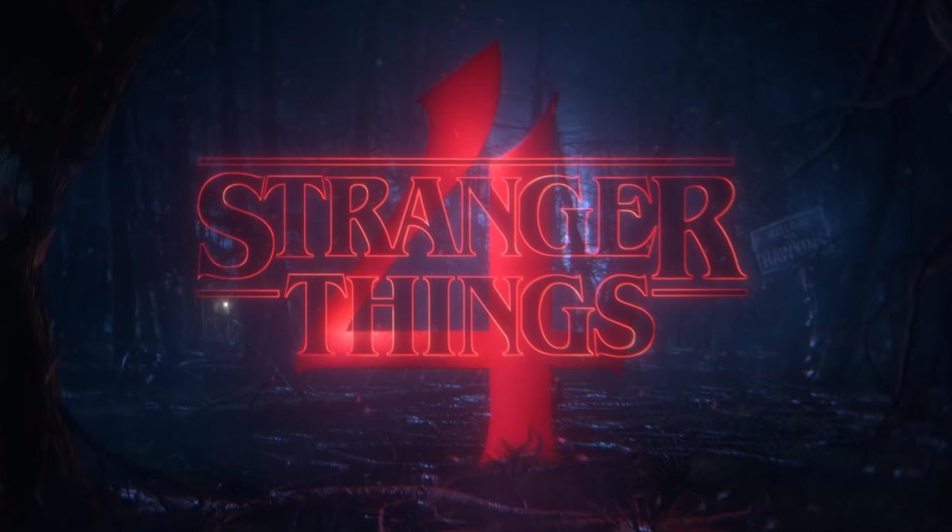 Imagen con logo de Stranger Things 4