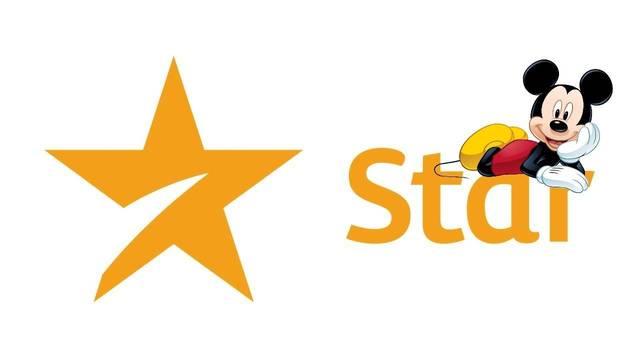 Logo de Star, plataforma de Disney, con imagen de Mickey Mouse