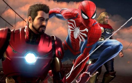 Imagen de Spider-Man en Marverl's Avengers