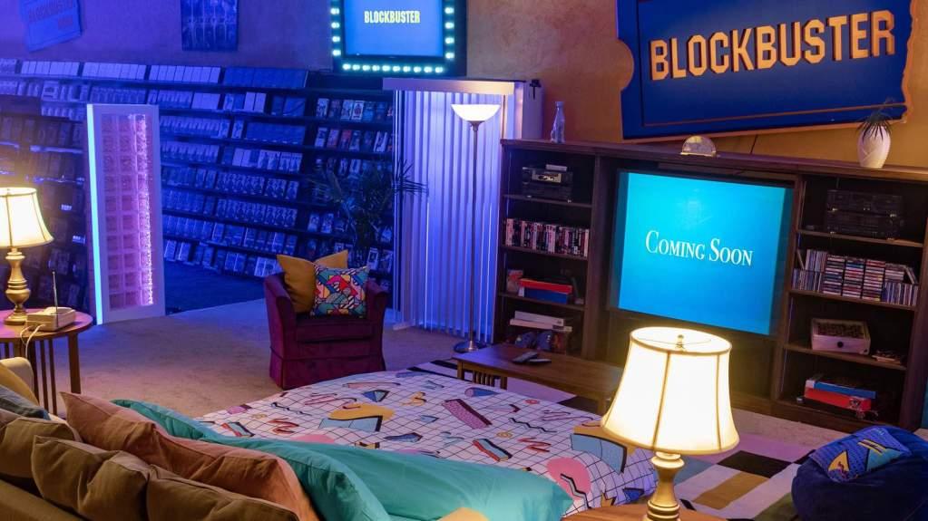 Fotografía del último Blockbuster del mundo