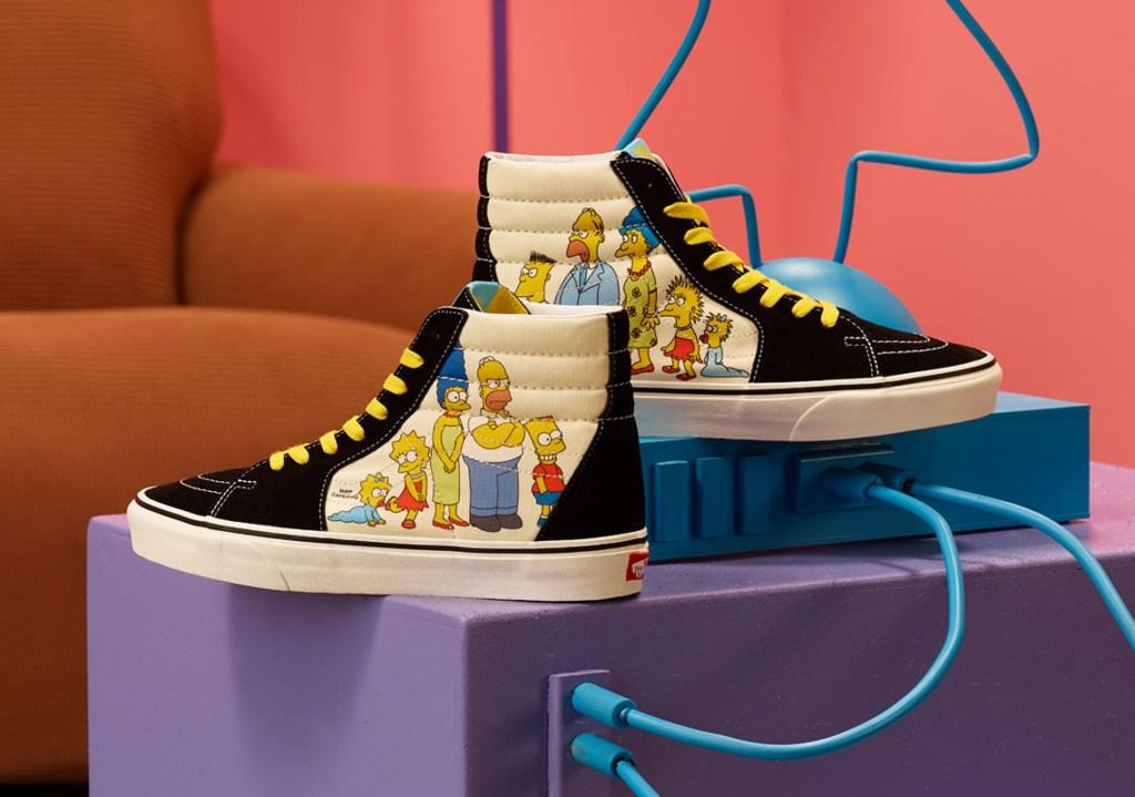 Fotografía de Vans con Los Simpson