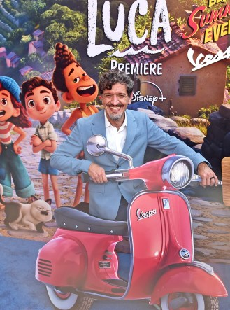 LOS ANGELES, CALIFORNIA - JUNE 17: Enrico Casarosa arrives at the world premiere for LUCA, held at the El Capitan Theatre in Hollywood, California on June 17, 2021. (Photo by Alberto E. Rodriguez/Getty Images for Disney)