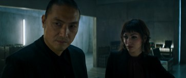 Takehiro Hira plays Kenta and Ursula Corbero plays Baroness in Snake Eyes: G.I. Joe Origins from Paramount Pictures, Metro-Goldwyn-Mayer Pictures and Skydance.