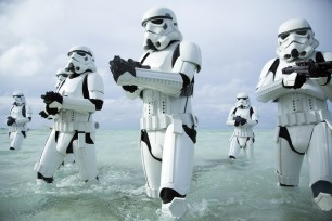 Rogue One: A Star Wars Story..Stormtroopers..Ph: Jonathan Olley..© 2016 Lucasfilm Ltd. All Rights Reserved.