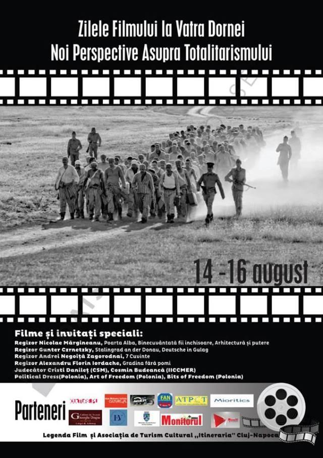 Zilele filmului la Vatra Dornei. Noi perspective asupra totalitarismului.