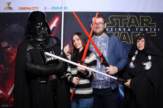 Si inca una cu Domnul Vader