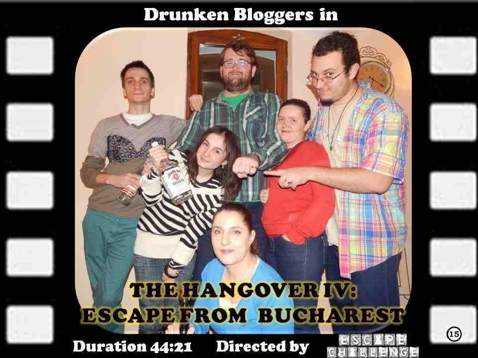 Hangover IV drunken bloggers