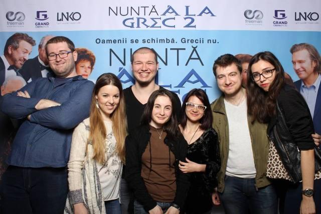Bloggeri la avanpremiera Nunta a la grec