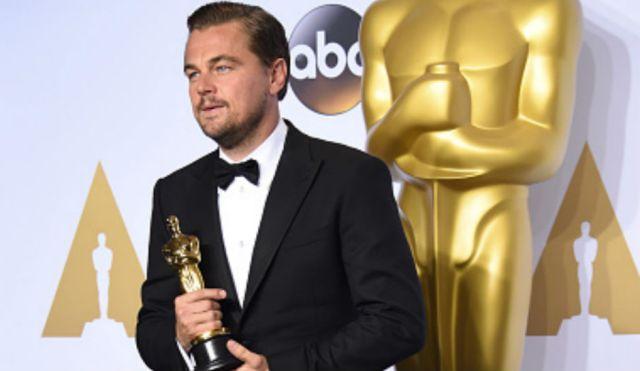 Leo dicaprio Oscar 2016