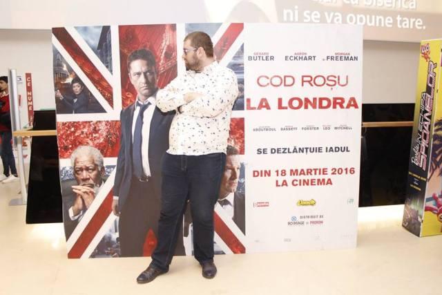London has Fallen - Cod Rosu la Londra Emil Calinescu