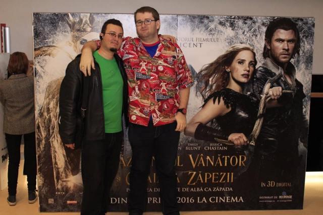 Razboinicul Vanator si Craiasa Zapezii Avanpremiera bloggeri