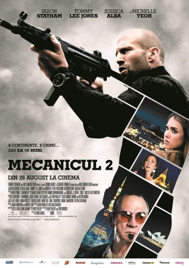 Mecanicul 2 POSTER Romania