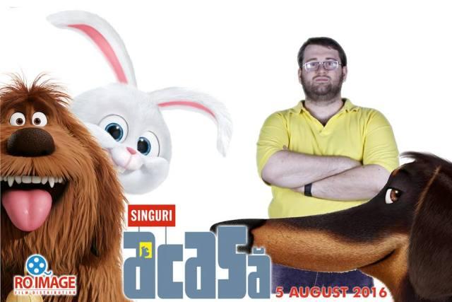 Secret Life of Pets - Singuri Acasa Emil Calinescu