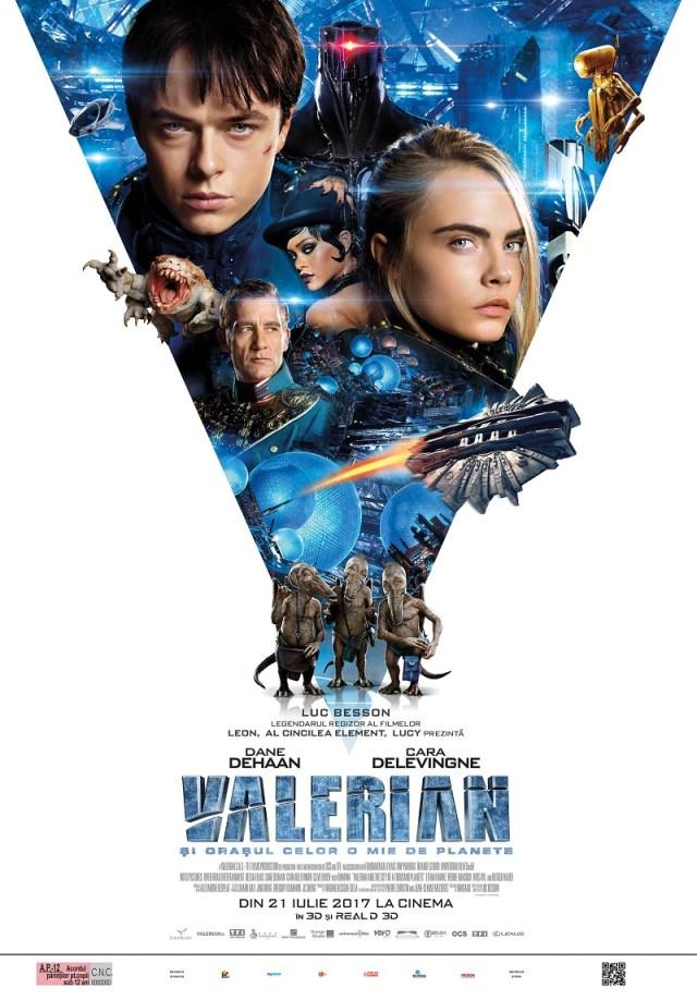 Valerian si Orasul celor o mie de planete