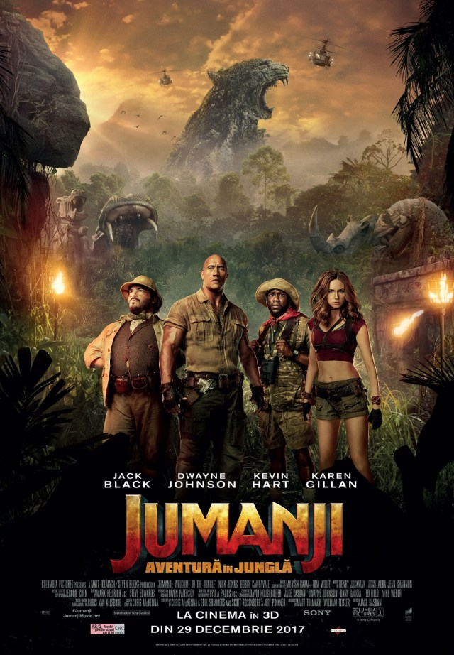 Jumanji: Welcome to the jungle – Jumanji: Aventura in jungla