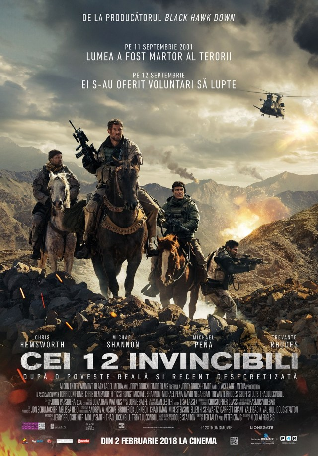 12 strong – Cei 12 invincibili