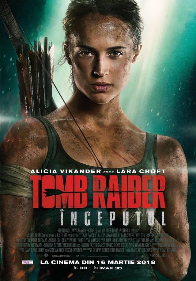 Tomb Raider: Inceputul – printre cele mai bune ecranizari ale unui JOC
