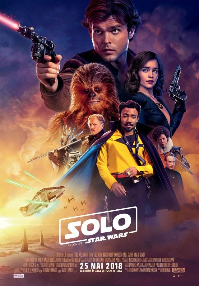 Solo: O poveste Star Wars este un film decent