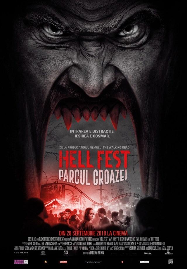 Victoria Baltag despre Hell Fest. Parcul groazei