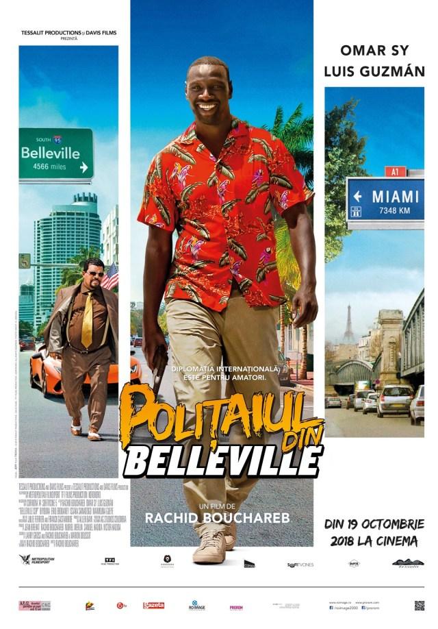 Ana Marin despre Belleville Cop – Politaiul din Belleville