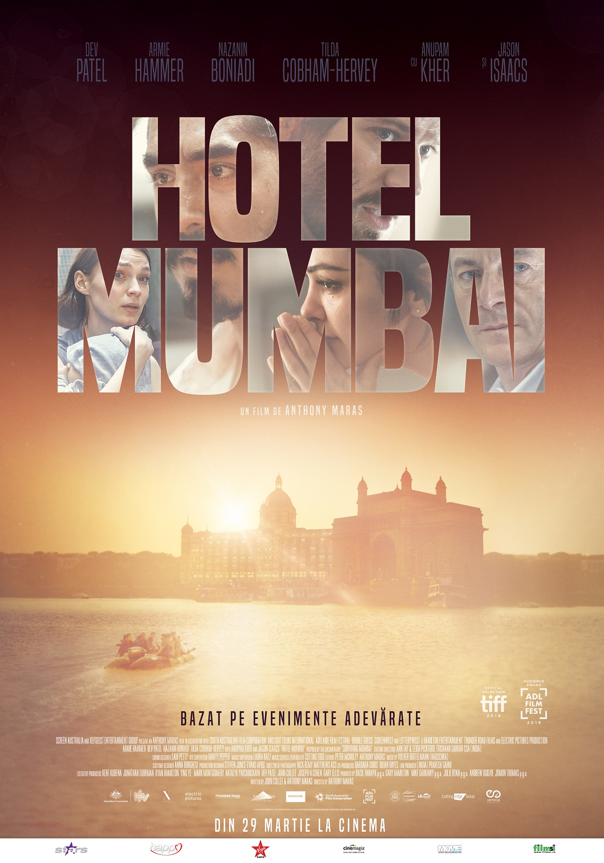 Hotel Mumbai Poster Romania