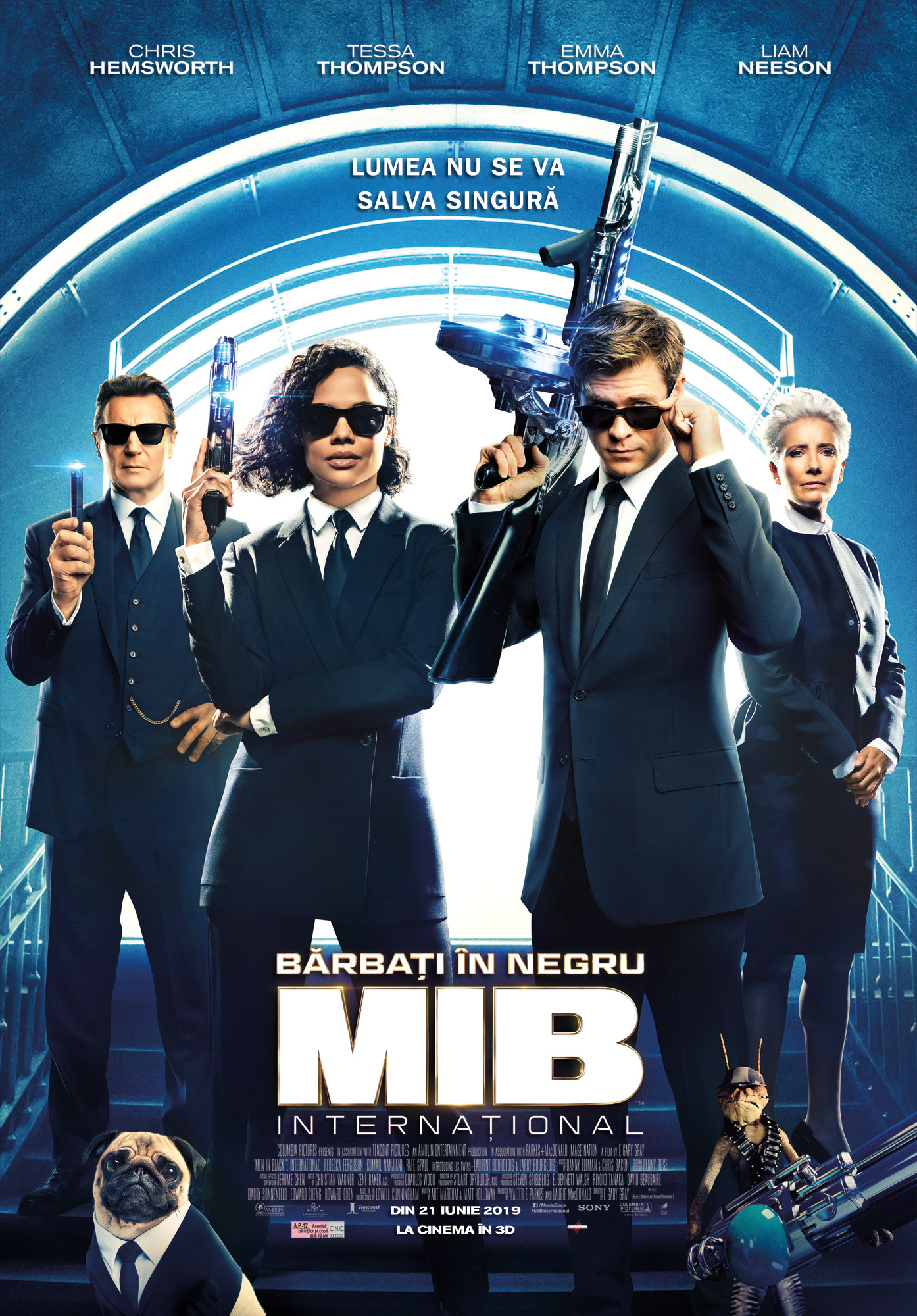 Barbati in negru International - Men in Black International POSTER ROMANIA