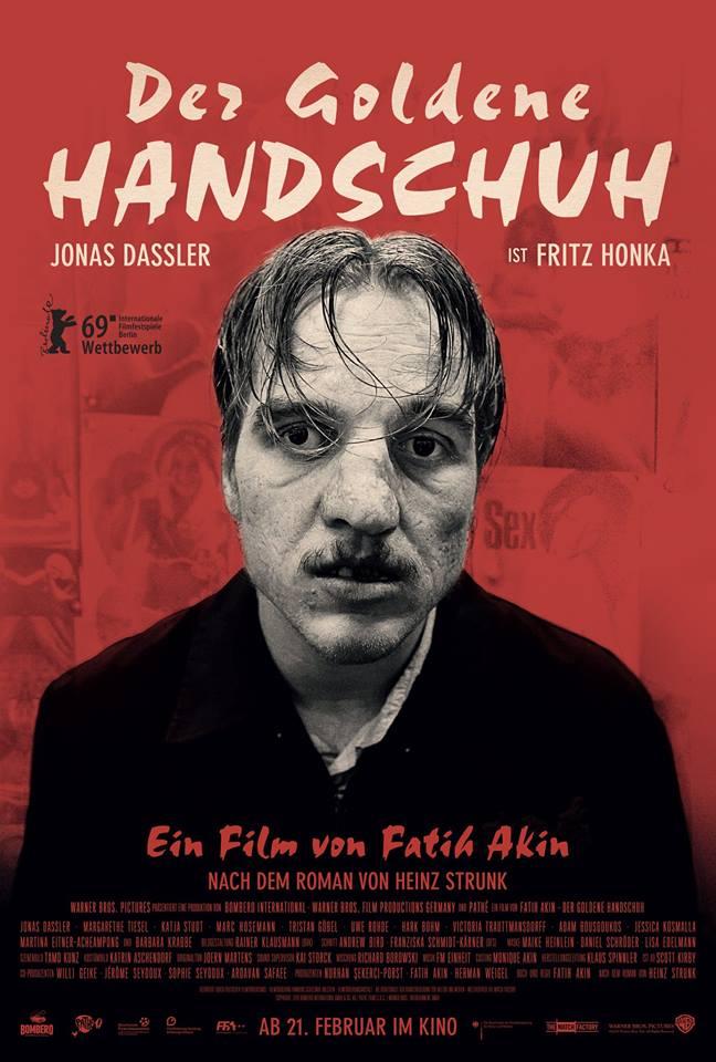Manusa de aur - Der goldene Handschuh - TIFF 2019 POSTER