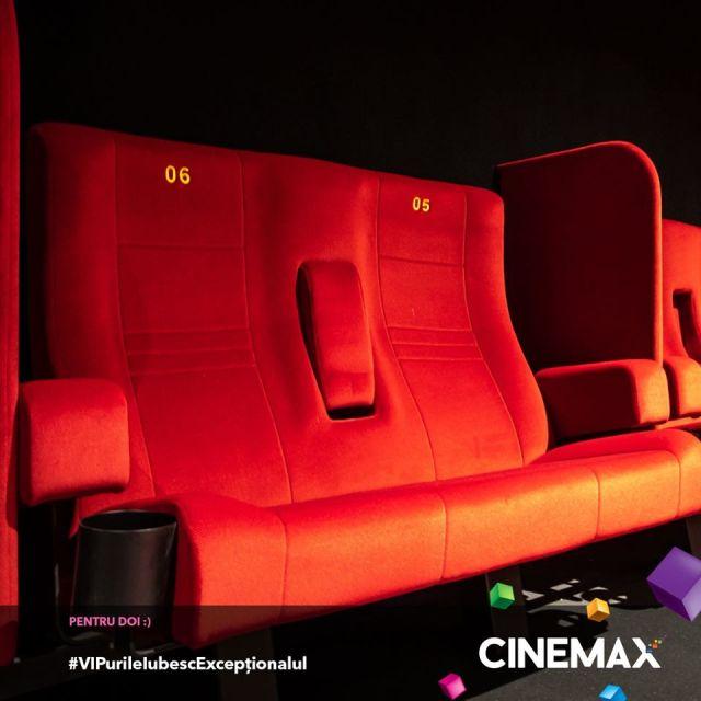 Cinemax Veranda locuri pentru cupluri