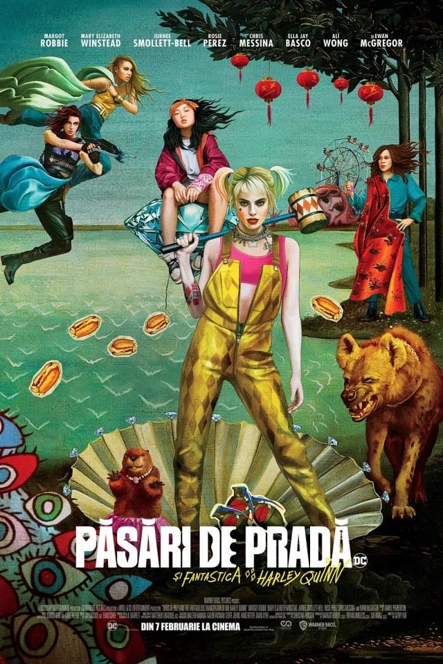 Pasari de prada si fantastica Harley Quinn – fake-ul anului 2020