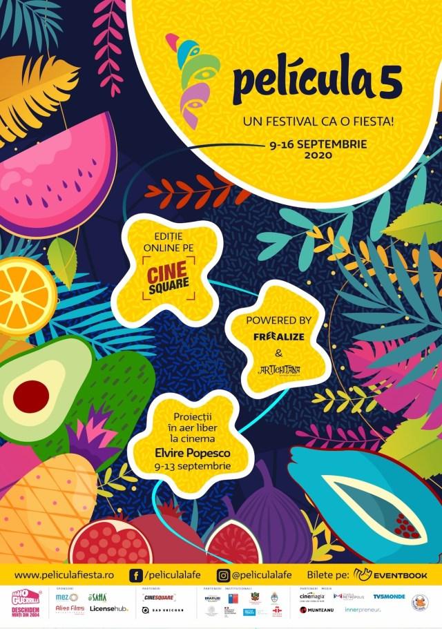 Festivalul Pelicula 5 – 9-16 septembrie 2020