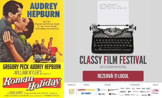Vacanta la Roma – Roman Holiday (1953)  – Classy Film Festival Editia 1