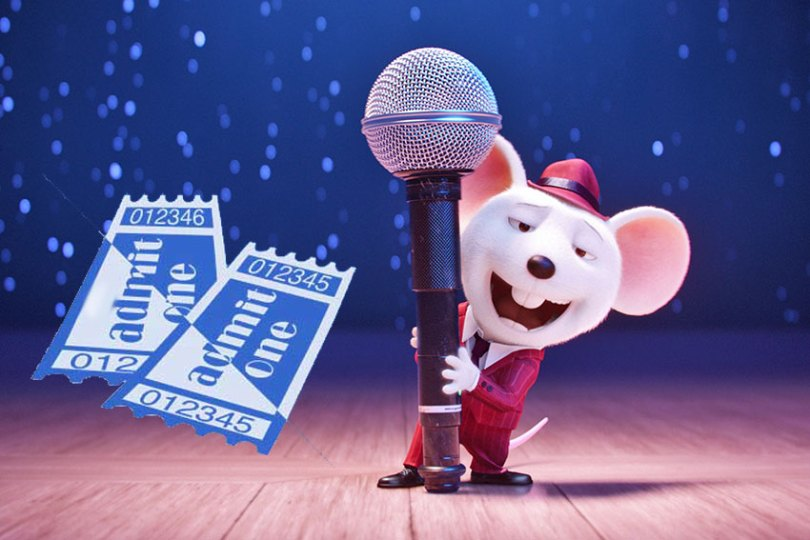 Win  Sing  Advance Movie Tickets in 7 Cities Nationwide   Contests     Sing Movie Ticket Giveaway