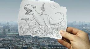 Η πρώτη μου ταινία κινουμένων σχεδίων σε χαρτί