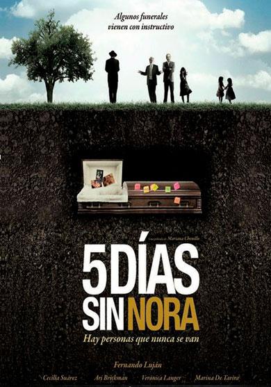 cinco-dias-sin-nora-pelicula-poster