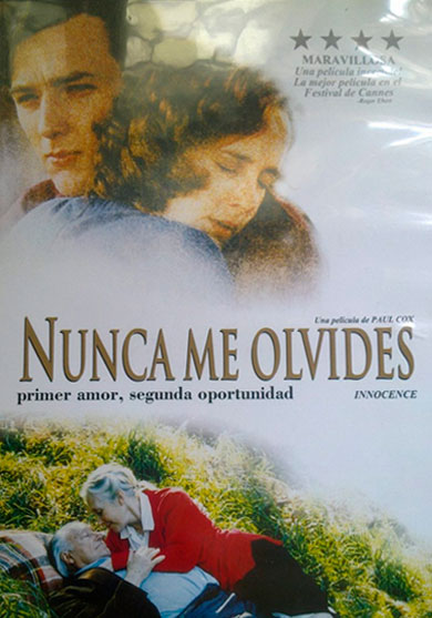 NUNCA ME OLVIDES