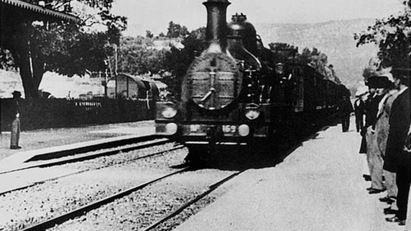A Chegada do trem na estação