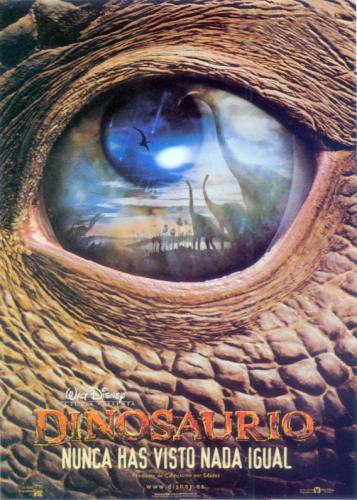 Posters De Cine Pelcula Dinosaurio