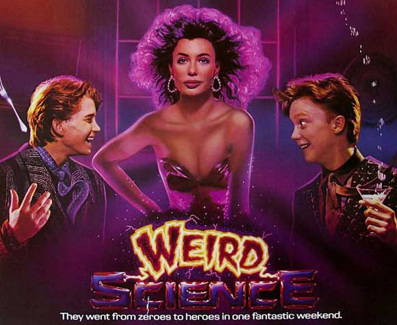 weird science - header