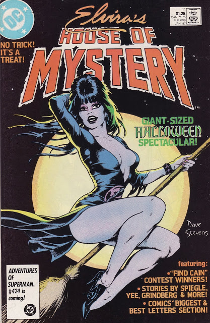 Elvira's House of Mystery #11 cover