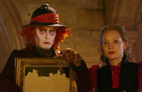 alice thru the looking glass