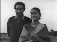 Singhji with Neeli, a Christian schoolteacher who begins to impress upon him the idea that actions make the man, not caste